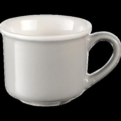 Tasse en porcelaine gris borie 9cl-CAFI