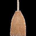 Suspension fait main en fibre de palmier D45xH80cm-ORIA