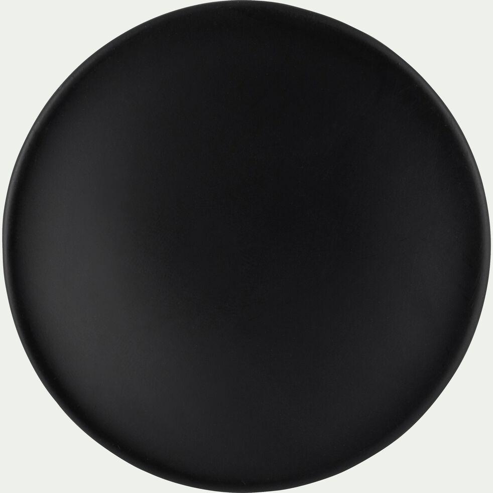 Patère ronde en bois - gris calabrun D8cm-PENO