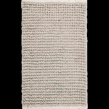 Tapis de bain en coton Gris borie 80x50cm-JAN