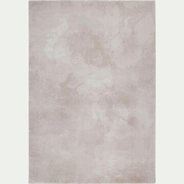 Tapis à motifs - rose grège 160x230cm-ODILE