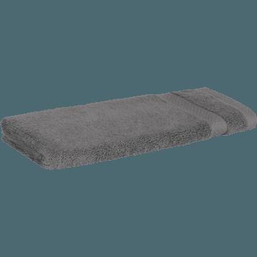 Serviette invité en coton 30x50cm gris restanque-AZUR
