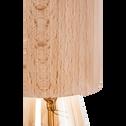 Suspension en bois clair H8,5xD6,5cm-PRAO