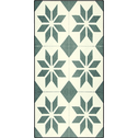 Tapis de cuisine carreaux de ciment 50x80cm en vinyle-VISTACIMEN2