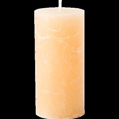 Bougie cylindrique coloris beige estérel-BEJAIA