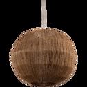 Suspension ronde en jute D36cm-SOPHIA