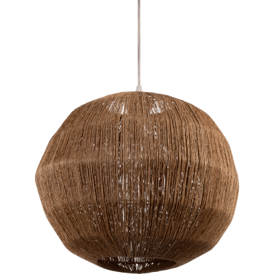 Suspension ronde en jute D36cm-SOPHIA