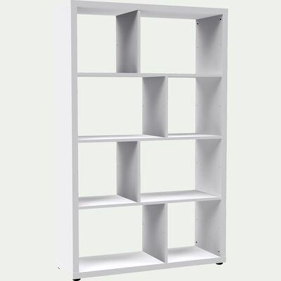 Étagère 8 cases blanche L95.8cm-BRIK