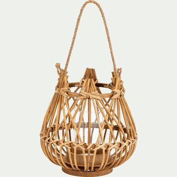 Lanterne en bambou D18xH19cm-Ourguentch