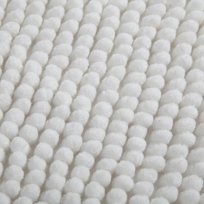 Tapis de bain 50x80cm blanc-PICO