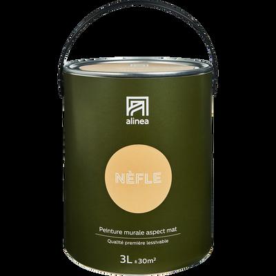 Peinture acrylique mate multi-supports 3L beige nèfle-PEINTURE