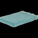 Drap de bain 90x135 cm bleu turquoise-LYNA