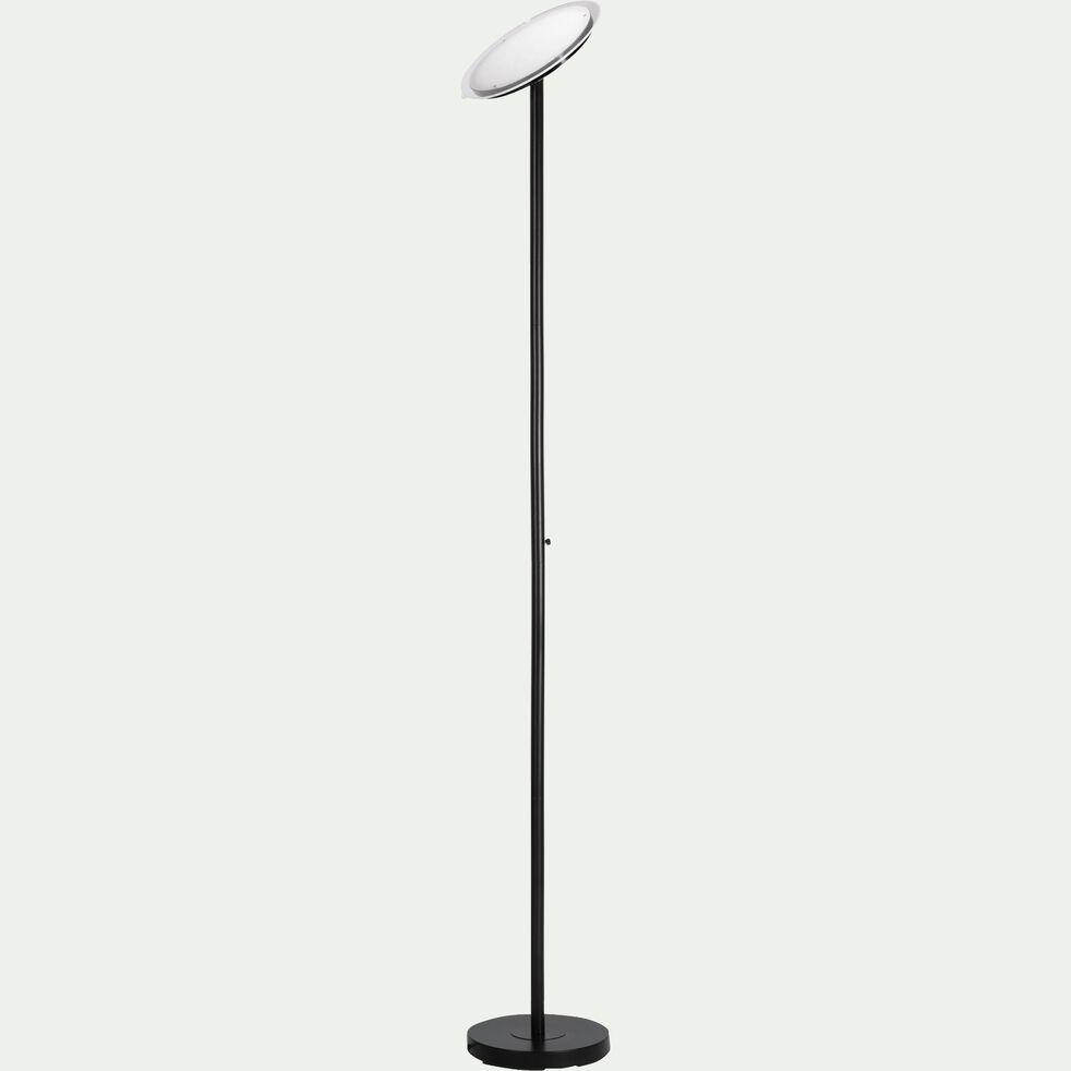 Lampadaire en métal noir h181cm-HANS