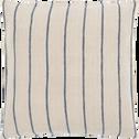 Coussin en lin rayé 45x45 cm-MENARA