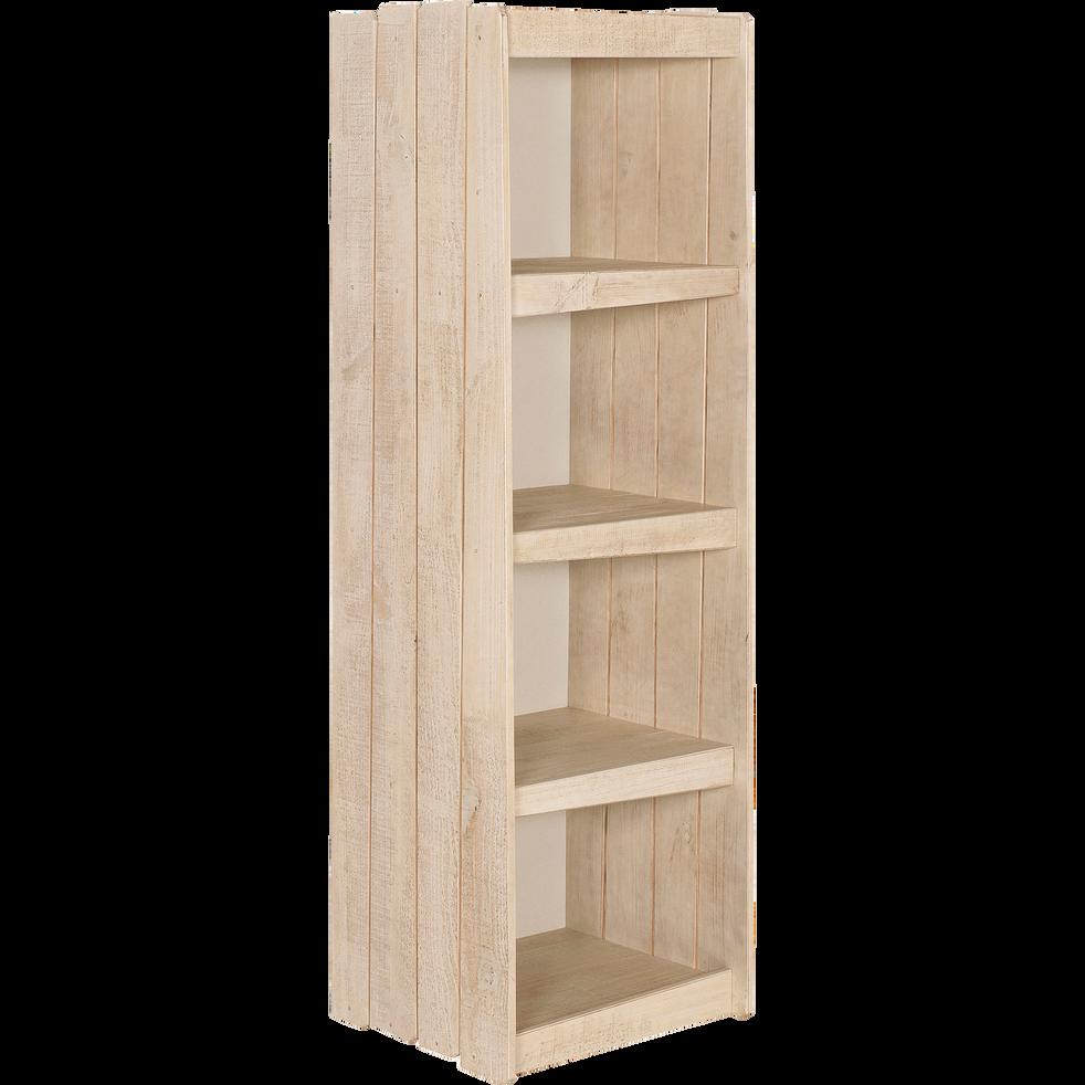 Bibliothèque en pin massif pour enfant-Woody wood