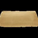 Drap plat en lin beige nèfle 270x300 cm-VENCE