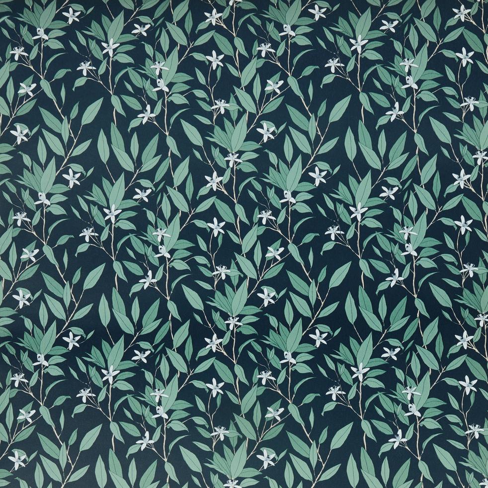 Papier peint intissé motif oranger 53cm x 10m-ORANGER