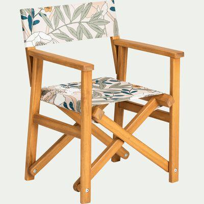Chaise de casting enfant motif arbousier-ARBOUSIER