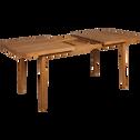 Table de jardin extensible en eucalyptus (6 à 10 places)-YOUK