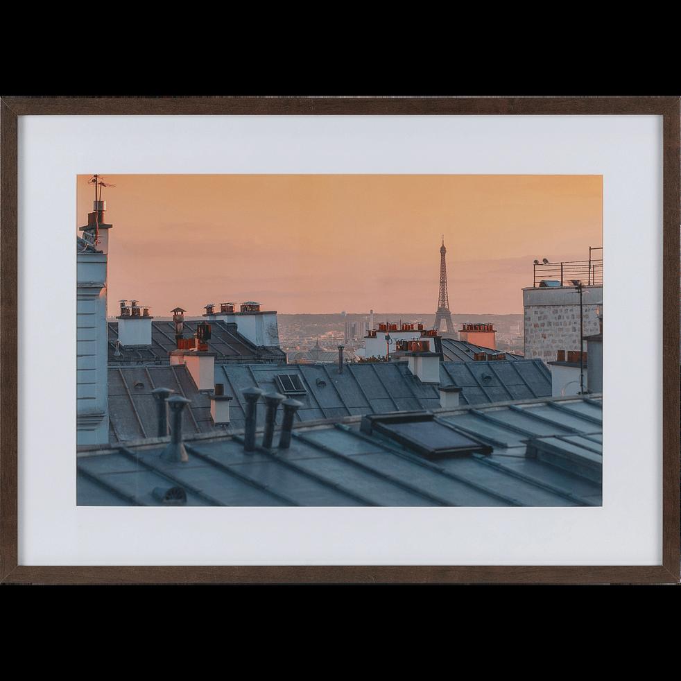 Image encadrée toits-TOITS