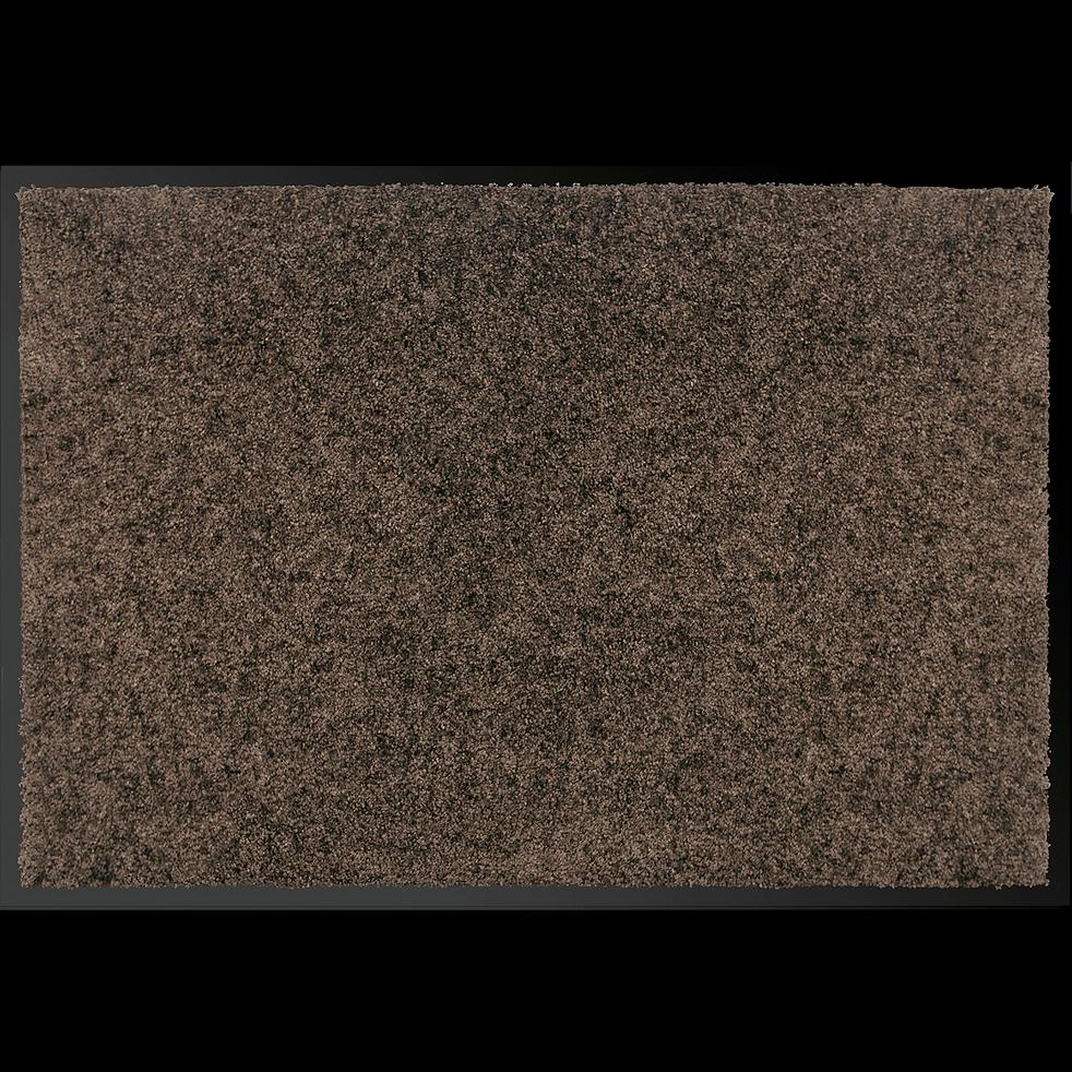 Tapis d'entrée paillasson marron 40x60 cm-BEN