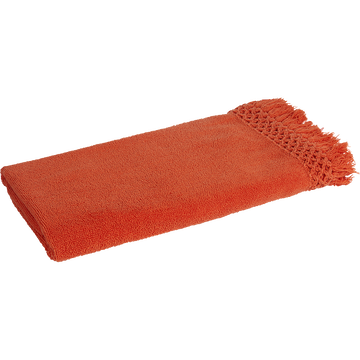 Drap de douche 65x125cm orange corail-BAHA