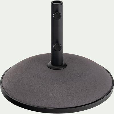 Pied de parasol en béton 20kg - gris restanque-CASERTO