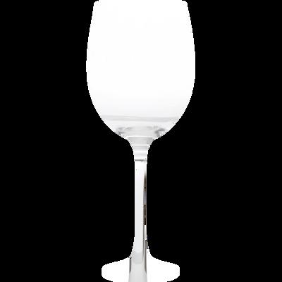 6 verres à pied en verre transparent 70cl-GINA