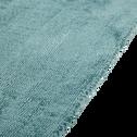 Tapis en viscose bleu 120x170cm-TANSEN