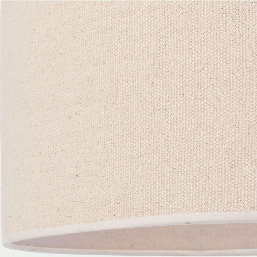 Abat-jour en coton - D50xH25cm blanc écru-KONE