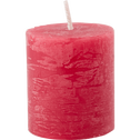 Bougie votive rouge arbouse D4xH5cm-BEJAIA