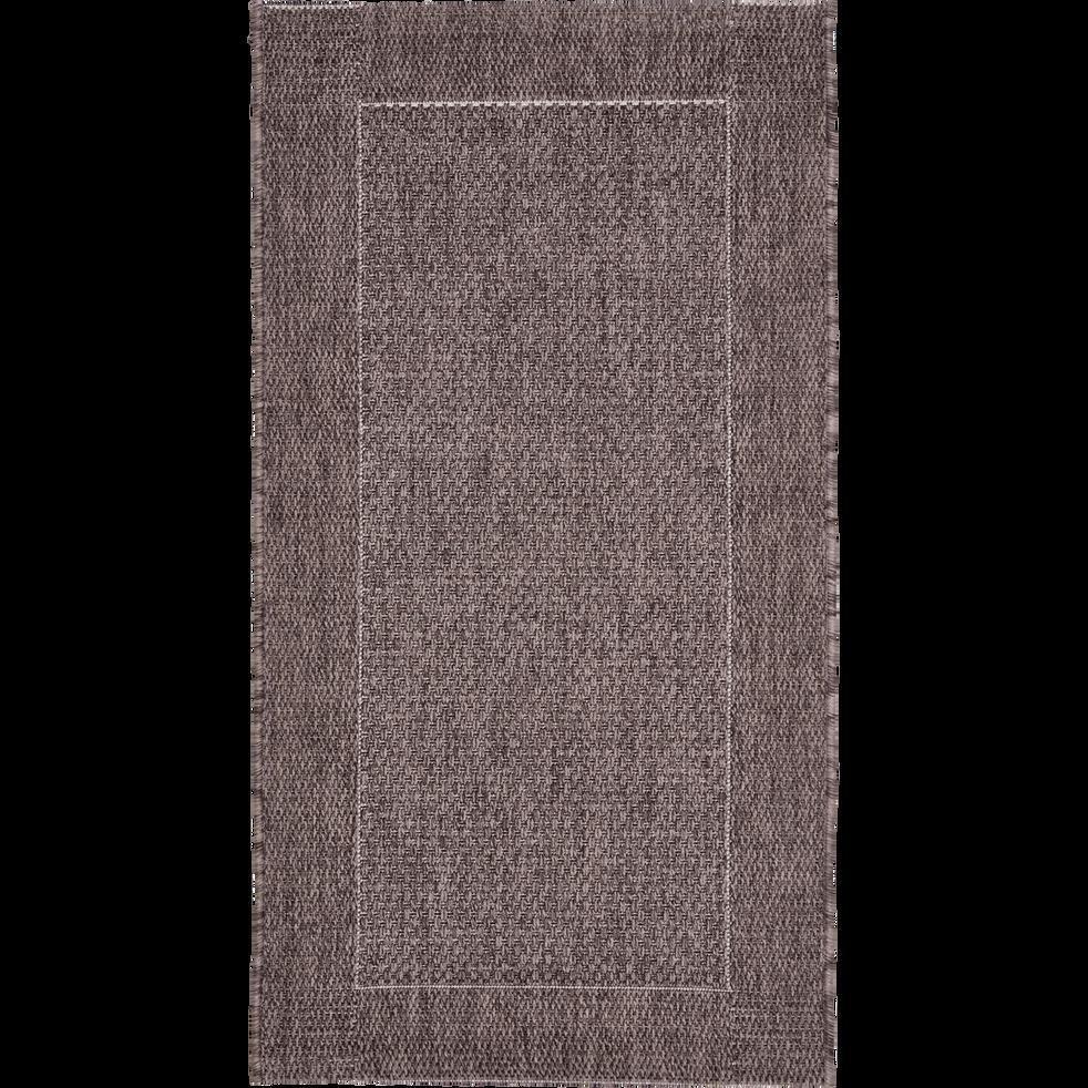 Tapis intérieur et extérieur marron 60x110 cm-KELLY