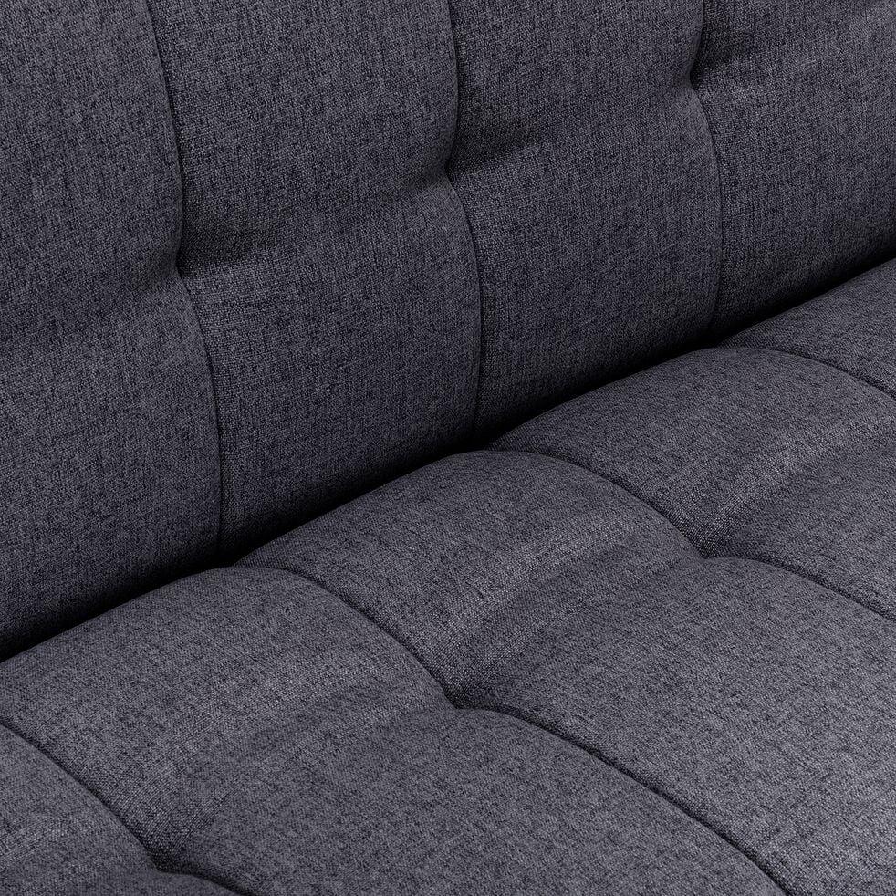 Banquette 3 places convertible en tissu gris restanque-VEORE