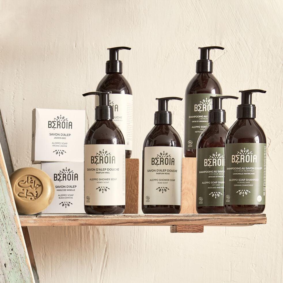 Shampoing 2 en 1 bio au savon d'Alep pour cheveux secs 300ml-Lamia