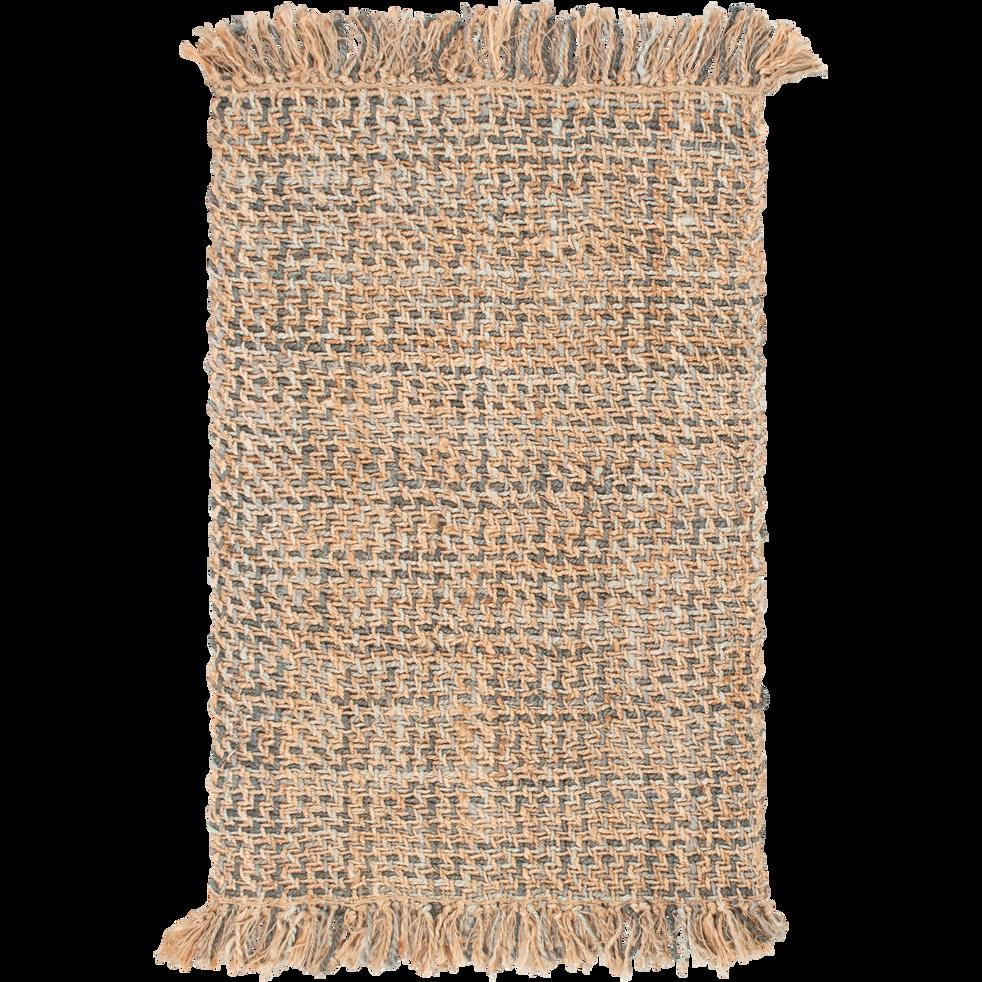 Tapis tressé en jute naturel 160x230cm-NIOLON