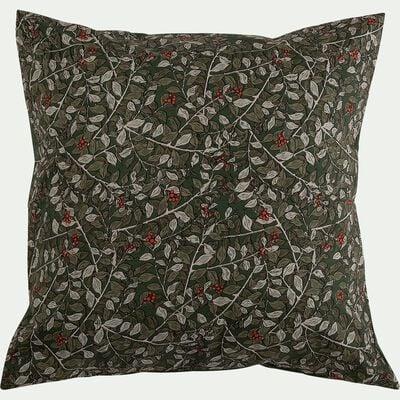 Housse de couette et taies d'oreiller - vert 240x220cm-ALBITRU