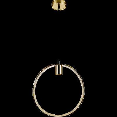 Suspension en métal doré D35cm-JULIANE