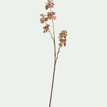 Fleur artificielle de kalanchoe - rose H78cm-KALANCHOE