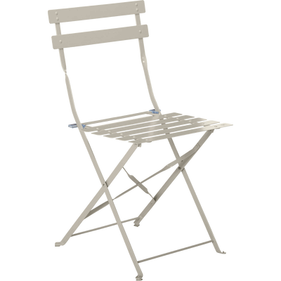 Chaise De Jardin Pliante Taupe CERVIONE
