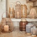 Lanterne en bambou H51cm-Marage