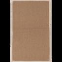 Tapis en jute 50x80cm-MAGNOLIAS