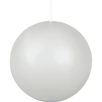 Bougie boule gris borie-HALBA