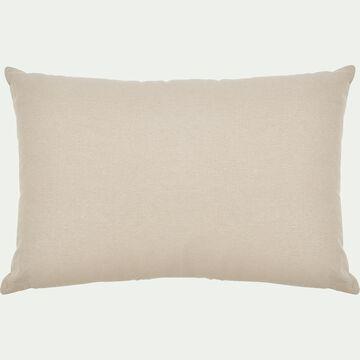 Coussin en coton - beige alpilles 40x60cm-CALANQUES