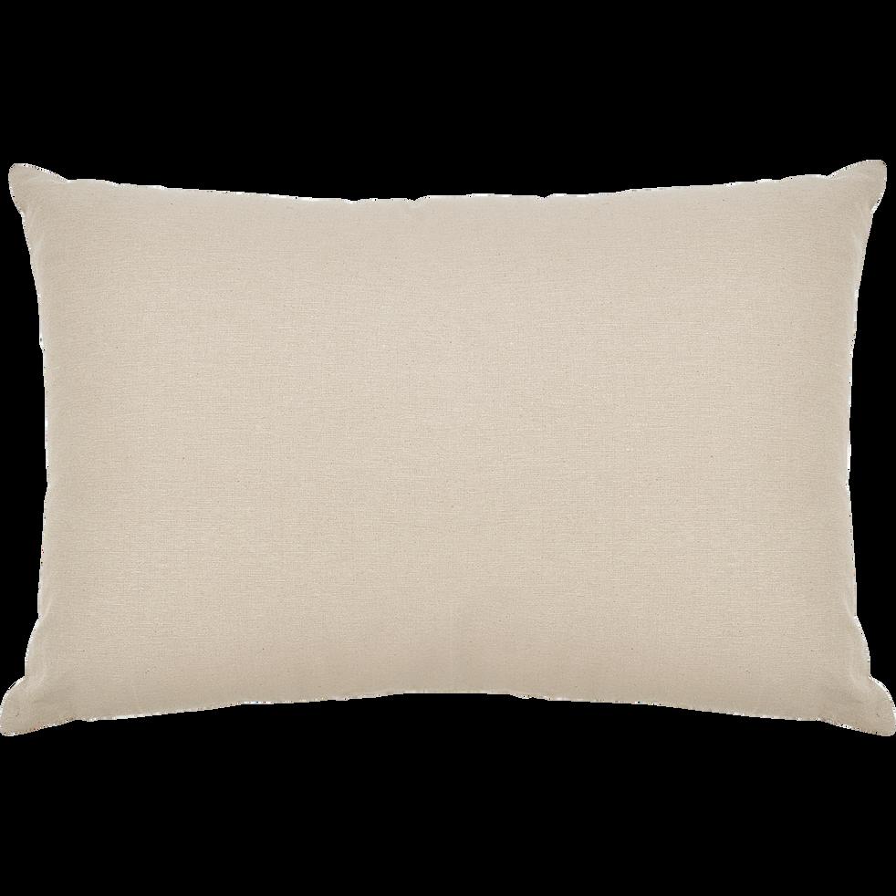 Coussin en coton beige alpilles 40x60cm-CALANQUES