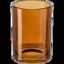 Gobelet en verre marron-OSCO
