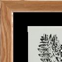 Image encadrée fougère de cuir 34x44cm-NATAQUA