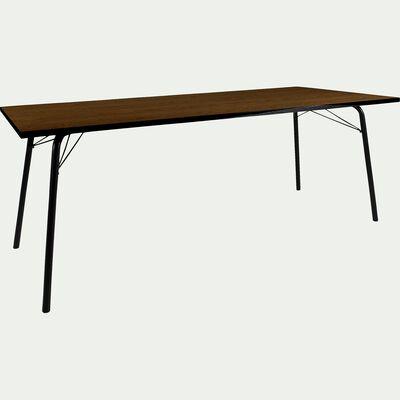 Table de repas rectangulaire vintage - 10 places-DENYS