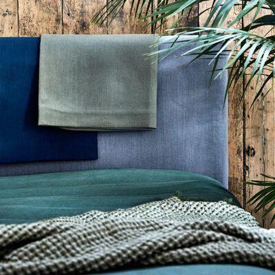 Housse en polyester pour tête de lit Topaze l90 cm - gris restanque-TOPAZE
