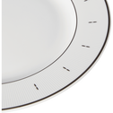 Assiette à dessert en porcelaine blanche D19cm-PRESTIGE