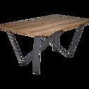 Table de repas rectangulaire piètement croisé - 10 places-VALERE